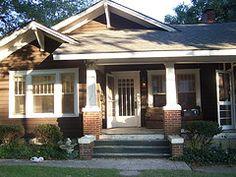 I love craftsman style bungalows
