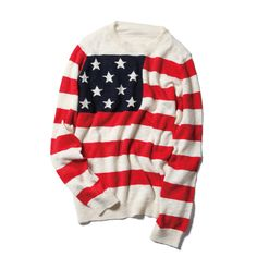 Sophnet American flag jumper. duh. yesterday. in my closet. please.