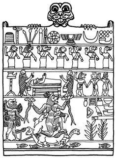 Kadim Babil mitolojisinde Tiamat ve Marduk'un yanı sıra güneybatı rüzgârı cini Pazuzu gibi bir dizi rüzgarlı ilah bulunur.[1] Pazuzu, M.Ö. binli yıllarda Asur ve Babil'in demonik / ifrit tanrısıdır.[2] Sümer ve Akad mitolojilerinde, rüzgar cinlerinin kralı ve tanrı Hanbi'nin oğludur.[3] Eski Mısır'ın Bes gibi muzır cinleri varken, Mezopotamya'da Pazuzu gibi ilginç yaratıklar kol gezmektedir. Pazuzu, dehşetengiz bir varlıktır; aslan başlı, kartal ayaklı ve akrep kuyrukludur. Buna…