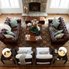 this is how most rooms should be set up two sofa s facing each rh pinterest com Decorating with Two Couches 2 Mirrors Facing Each Other