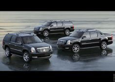 Cadillac Sport Utility Vehicles: The Escalade family of SUVs. Cadillac Escalade, Cadillac Ats, Escalade Ext, My Dream Car, Dream Cars, Dodge Suv, Volvo Xc90, Bugatti Chiron, Car Brands