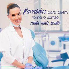 Hoje é dia dos profissionais que cuidam da nossa saúde, bem-estar e deixam os nossos sorrisos mais bonitos para aproveitar ainda mais os momentos de alegria. Feliz Dia Mundial do Dentista!