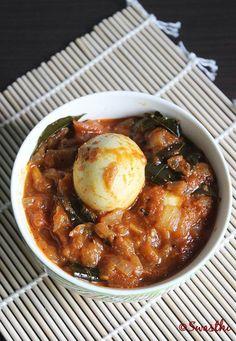 tomato egg curry recipe