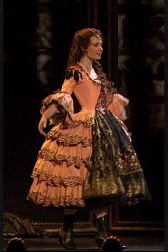 Sierra Boggess as Christine Daaé in the 25th Anniversay of The Phantom Of The Opera At The Royal Albert Hall. Point Of No Return, Aminta.
