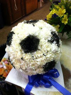 Flower soccer ball