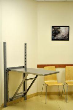 One of four spacious examination rooms Corner Desk, Rooms, Furniture, Home Decor, Corner Table, Bedrooms, Interior Design, Home Interior Design, Arredamento