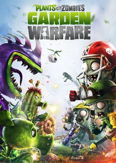 Plants vs. Zombies Garden Warfare artwork: Poster