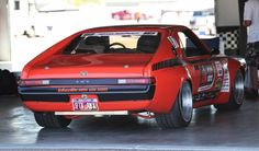 Bob's Lingenfelter LS7-powered '68 AMX, by Lakeside Rods and Rides, rides on a…