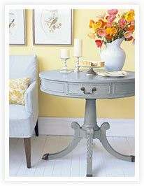 How to create a rustic finish on a wooden table... want to do my kitchen table too!