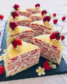 What are you celebrating tonight? Regrann from @ai.risa29 🍓🍓 * * #苺のミルクレープ#ミルクレープ#手作りケーキ#手作りお菓子#手作りスイーツ#お菓子作り#おうちカフェ#おうちごはんLover…