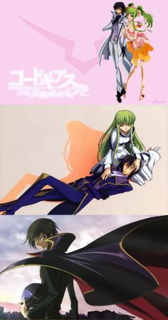 Code Geass(Lelouch and CC)