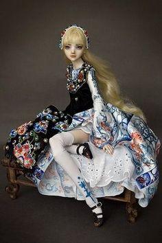 Enchanted doll.