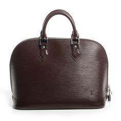 aec9b68997f Fashionphile - LOUIS VUITTON Epi Alma PM Moka Louis Vuitton Auténtico