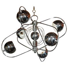 Chrome Plated Hanging Fixture