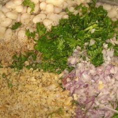 White Beans with Parsley & Onion - Ayurvedic Diet & Recipes