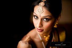 Pretty South Indian mang tikaa
