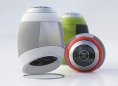The adorable egg-shaped Tamaggo ($200) takes both of those features and puts them into a small robot-like package that will make panorama-shooting about as easy as it can be, and give you 14-megapixel shots to work with. The small camera comes with a helpful stand and will take shots in either full 360-degree mode, or either horizontal or vertical panorama. The camera has a 2-inch LCD touchscreen and runs off of a li-polymer rechargeable battery that can connect to your computer via micro USB. The camera also features Bluetooth and built-in WiFi for sharing your photos.     The Tamaggo will be available in the second quarter of this year for $200.