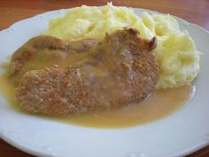 Baked Potato, Mashed Potatoes, Beef, Baking, Ethnic Recipes, Pork, Whipped Potatoes, Meat, Smash Potatoes