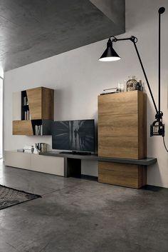Living Room Modern, Living Room Decor, Home Furniture, Furniture Design, Living Room Tv Unit Designs, Muebles Living, Tv Wall Design, Modern Interior Design, Home Decor