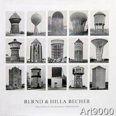 Bernd und Hilla Becher - Wassertürme