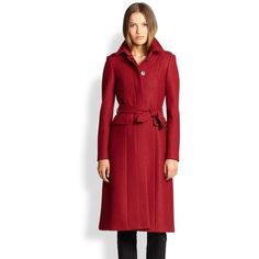 Wool Sunderwood Military Coat Military-inspired details transport this polished wool coat to a sharp, fashion-forward direction. Fold-over collar. Epaulettes. …