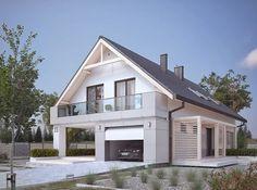 DOM.PL™ - Projekt domu MT Amarylis 4 PALIWO STAŁE CE - DOM MS3-88 - gotowy projekt domu