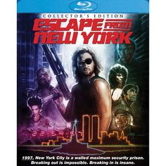 Escape from New York [Collector's Edition] [2 Discs] [Blu-ray]