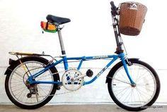 Picture of Dahon folding bike with Handlebar Basket