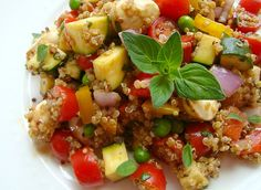 Vegetable and Quinoa Salad