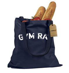 Gym Rat Workout Shopping Tote Bag