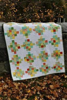 Another good scrap quilt or jelly roll quilt.