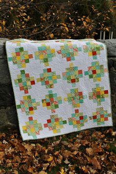 Patch Scrap quilt