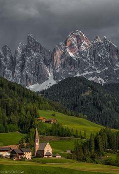 Santa Maddalena,Val di Funes, Trentino-Alto Adige, Italy