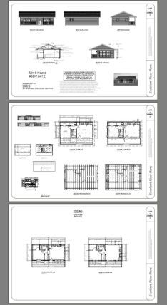 32x16 House -- #32X16H1E -- 512 sq ft - Excellent Floor Plans