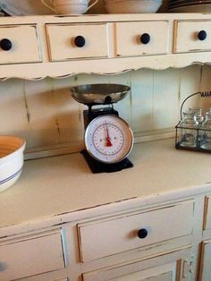 Farmhouse Decor..Kitchen Scale