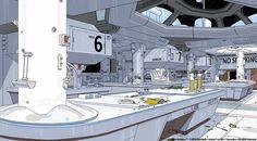 alien isolation concept art - Google Search