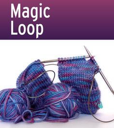 What does it take to be a Knitting Superstar? - Mastery of Magic Loop, toe up socks, continental knitting, advanced pattern reading, knitting faster. Magic Loop Knitting, Knitting Help, Knitting Videos, Knitting Socks, Knit Socks, Knitting Tutorials, Knit Basket, Knit In The Round, Circular Needles