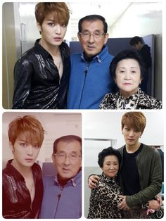 Jaejoong's mom and dad... <3
