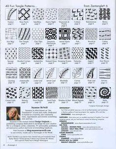 Basic+Zentangle   Zentangle Basics Book Zentangle 6