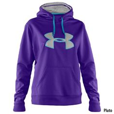 Under Armour Womens UA Storm Armour Fleece Big Logo Hoody - Gander Mountain