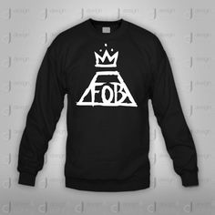 05297050c Fall Out Boy Fob Crewneck Sweatshirt by designandclothing on Etsy, $37.95  Outfits For Teens,