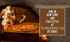 Dine in New York and Italy style at The BrickHouse Cafe Address: G-4/5 Aqua Corridor, Near Star Bazaar, Hazira Road, Surat Contact: 9979995678 #Restaurant #Cafe #Food #Continental #Italian #FastFood #TheBrickHouseCafe #CityShorSurat