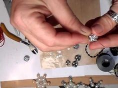 Here's a way of making your own bling mesh beads that can cost a fortune to buy! Another great tutorial to SAVE YOU MONEY to spend elsewhere :) xx