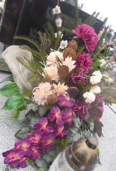 Funeral Flowers, All Saints, Ikebana, Flower Art, Special Occasion, Floral Wreath, Bouquet, Wreaths, Garden