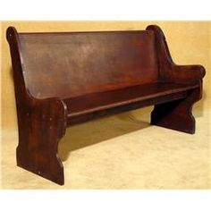 Old Church Pew Want One So Bad For A Family Room