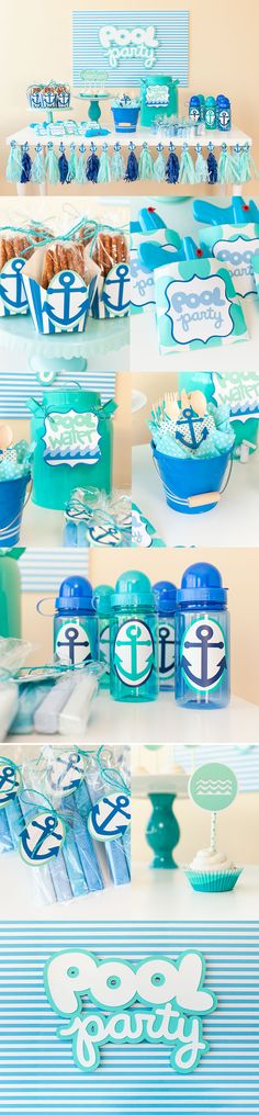 Summer pool party with Cricut!