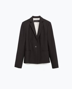 Image 8 of DOUBLE FABRIC BLAZER from Zara