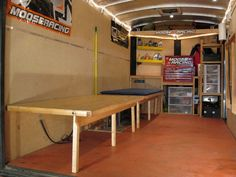 30 Elegant Picture of Bunk Bed Design Ideas For Your Trailer. Beds are a really good spot for increased storage. This DIY flower bed is truly a bed! Extra bedding would be an intelligent alternative for this spac. Enclosed Motorcycle Trailer, Enclosed Trailer Camper, Cargo Trailer Camper, Car Trailer, Utility Trailer, Tent Trailers, Trailer Build, Motorcycle Garage, Travel Trailers