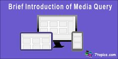 Brief Introduction of Media Query