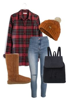 """""""Outfit #559"""" by naleland on Polyvore featuring moda, Madewell, UGG Australia, Barbour i H&M"""
